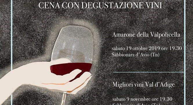 Cena con degustazione vini